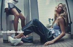 Why Alexander Wang's Spring Campaign Is the Best of the Season