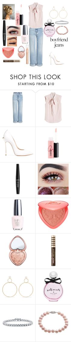 """Candy #6"" by kei-lily-amethyst on Polyvore featuring Alexander McQueen, MaxMara, Casadei, MAC Cosmetics, NYX, OPI, Too Faced Cosmetics, Natasha Schweitzer, Kate Spade and BERRICLE"