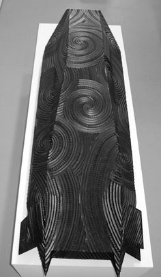 Brett Graham is an internationally acclaimed sculptor from New Zealand who uses his Maori heritage to undermine western stereotypes about indigenous people. Maori Patterns, Recycled Tires, Maori Designs, Nz Art, Master Of Fine Arts, Weapon Of Mass Destruction, Maori Art, Bachelor Of Fine Arts, Sculpture Ideas