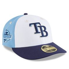 buy online 96bae d5c4a Tampa Bay Rays New Era 2018 MLB All-Star Game On-Field Low Profile 59FIFTY  Fitted Hat – White Blue