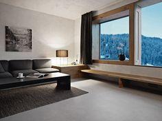 Das schöne Rocksresort auf der Schweiz