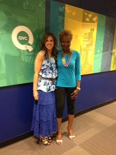 Renee Greenstein of QVC's Women With Control in Pono by Joan Goodman chain link necklace! #PONO #pono #Style #necklace #jewelry #accessories #NYC #QVC #womenwithcontrol