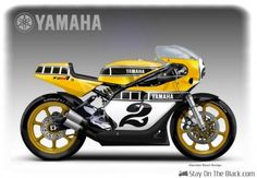 Here's my concept for a modern old-school racer. Based on the engine from the current Yamaha it is a tribute to Kenny Roberts Sr. Flat Track Motorcycle, Suzuki Motorcycle, Motorcycle News, Street Motorcycles, Concept Motorcycles, Jet Ski, Custom Sport Bikes, Yamaha Motorcycles, Custom Motorcycles
