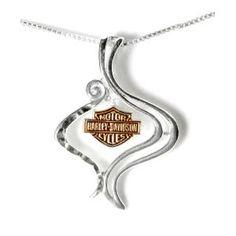 Brandi baker.                Jewelry from Harley Davidson - LOVE!