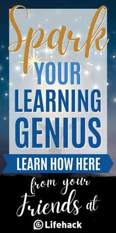 Learn how to quickly grasp a new concept, skill, or idea in this thirty-minute webinar. You too can learn quickly! #genius #learning #education #learning #learningstyles #brainhack