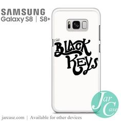 the black keys logo Phone Case for Samsung Galaxy S8 & S8 Plus