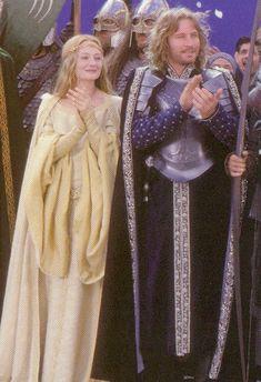 Eowyn and Faramir (Miranda Otto, David Wenham) #LordoftheRings