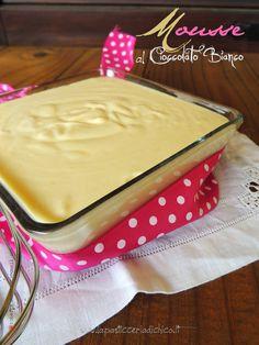 Mousse al cioccolato Bianco - www.lapasticceriadichico.it