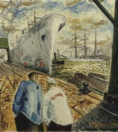 The Lalla Rookh in the harbour, Tap Werkman Past, Auction, Artist, Painting, Beautiful, Google, Past Tense, Artists, Painting Art