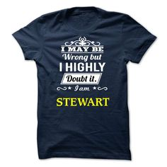 STEWART - I may be Team