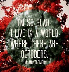Älskar hösten :)