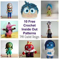 Inside Out amigurumi schemi gratis #crochet #pattern #freepattern