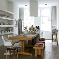 ... about Eethoek/ dining room on Pinterest  Met, Interieur and Van