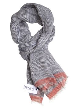 #Checked #scarf in unique quality