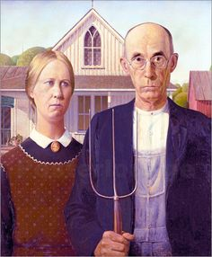 Poster American Gothic