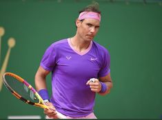 Monte Carlo TMS 2021 Rafael Nadal, Tennis Players, Monte Carlo, Tennis Racket, Sports, Hs Sports, Sport