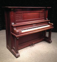 Home Page - Antique Piano Shop Piano Shop, Old Pianos, Upright Piano, Craftsman Style, Craft Items, Arts And Crafts, Antiques, Bungalow, Inspired