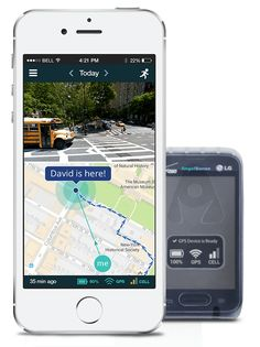 a9b5c9f94 GPS tracker device for kids with special needs. Best Coverage in Canada