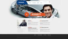 Design webu a loga pro novou společnost