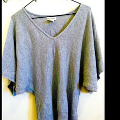 Banana Republic Kimono Sweater Sexy V neck design with a super comfortable soft and lightweight feel:) This top has a very flowy kimono type sleeve with a banded waistline for a perfect loose and sexy fit perfect condition! Banana Republic Sweaters