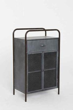 4040 Locust Caged Metal Cabinet - Urban Outfitters