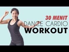 Senam Membakar Lemak 30 Menit Dance Cardio Workout - YouTube