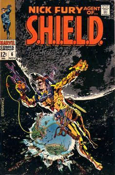 Nick Fury Agent of Shield # 6 - Steranko