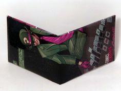 Comic Book Wallet// Riddler, $4.00