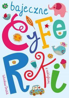 """""""Bajeczne cyferki"""" to książka edukacyjna zawierająca krótkie zabawne wierszyki autorstwa Wiesława Drabika oraz ćwiczenia związane z nauką liczenia. Dziecko w łatwy i przyjemny sposób nauczy się rozpoznawać, czytać i pisać cyfry. <br><br>Rysunki do kolorowania oraz naklejki to dodatkowy atut tej pozycji."""