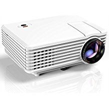in the picture:Projector, TENKER RD805 Mini Projector, Portable Home Cinema HD LED Video Movie Projector Support 1080P USB VGA HDMI AV, Compatible with Amazon Fire Stick TV Smartphones iPhone iPad, White lots of color options – get more info:https://www.amazon.com/dp/B076CQY8ND    Is the P...