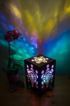 Floating Rangoli Lamp Deign by ladyamber79 on Etsy
