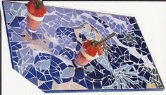 MOSAICS  -  How to Make Your Own Mosaic Table Top