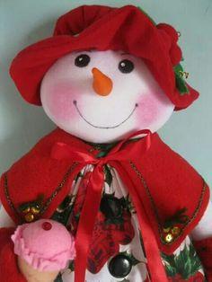 Snowwoman!!