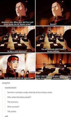 Avatar Aang undercover in the Fire Nation school. This is why the show is the best. It's a better look at war than most non-animated shows/movies. Avatar Aang, Avatar Airbender, Team Avatar, Avatar Facts, Avatar Quotes, Avatar Funny, Got Anime, Anime Manga, Disney Cartoons