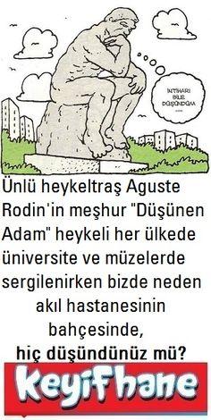 Düşünen Adam Heykeli #Hikaye #Düşünen #Adam #Heykeli #Auguste #Rodin #Türkiye #Bakırköy #Tımarhane
