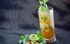 Mojito med pasjonsfrukt