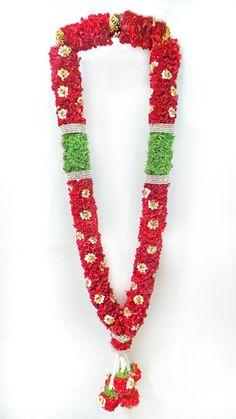 Wedding Garlands, Flower Garland Wedding, Yellow Wedding Flowers, Flower Garlands, Stage Decorations, Indian Wedding Decorations, Ganesh Images, Indian Wedding Hairstyles, Durga Goddess