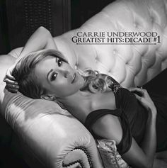 """Carrie Underwood, announced her new single, """"Something in the Water"""" and album, Greatest Hits: Decade on the Today Show. Snip and Cover art inside! Country Music, Country Singers, I Love Music, New Music, Latest Music, Carrie Underwood Fan Club, Vince Gill, Jessie James, Google Play Music"""