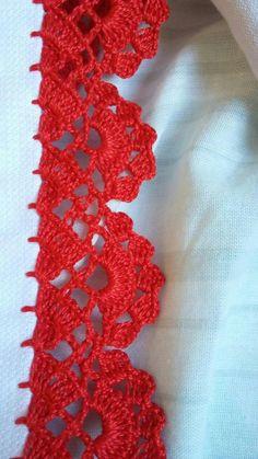 15 Ideas for hat diy pattern projects Crochet Edging Patterns, Crochet Lace Edging, Crochet Borders, Knit Or Crochet, Filet Crochet, Crochet Designs, Crochet Doilies, Crochet Flowers, Crochet Stitches