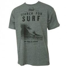 #Billabong Mens Shirt Greg Noll Search For Surf Dark Grey Heather