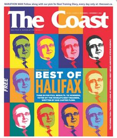 The Best of Halifax 2006 cover.  Photo credit: Kelly Clark