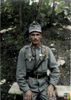 Austrian soldier .