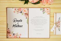 Convite de casamento Renata e Matheus