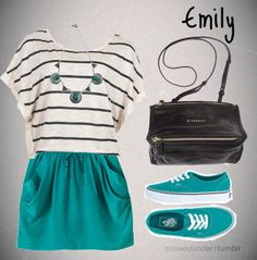 submitted by snowedunder  Sporty + Fashionable = Emily.