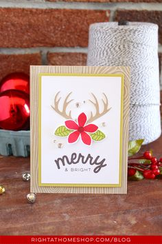 Using the Silhouette Cameo to Create Your Own Die Cuts - Right at Home Shop