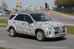 Erlkönig-Premiere: Mercedes M-Klasse Facelift