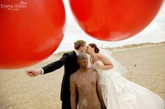 Liverpool wedding photography. Crosby beach wedding.
