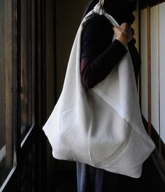 Linen Shoulder Sack- lets make this in men's shirts for spring