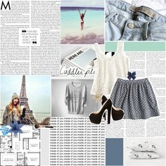 """""""Every time you come around you hear 'em saying yeah . ♥"""" by heyyitskim ❤ liked on Polyvore"""