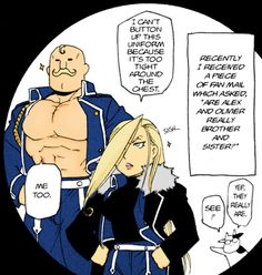 Alex and Olivier Armstrong...I...can't...stop...laughing...ohplease..ohpleaseohplease